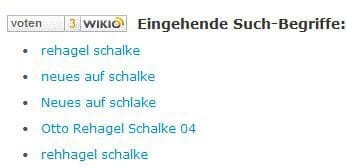 searchterm1 - Social Media-Button einbinden
